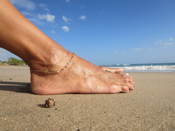 Image result for summer anklet